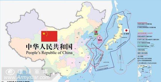 多批日本軍機進入東海識別區 中國空軍跟蹤監視