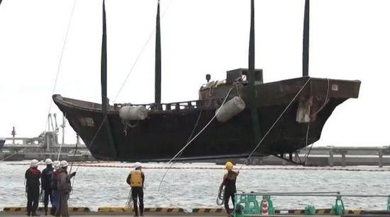 """近2个月至少有8艘""""幽灵船""""漂到日本海岸。台湾东森新闻云"""