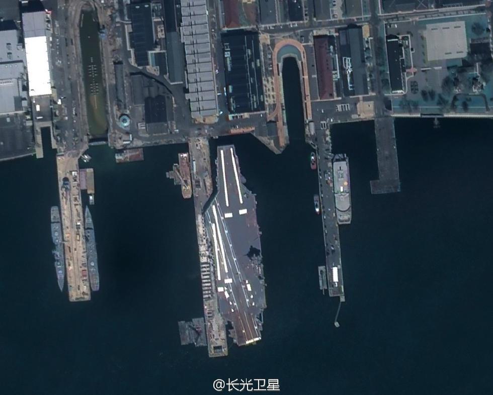 中国商业卫星已经抓到这么多航母