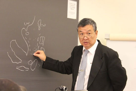 傅崐成:從臺灣民意代表到守護南海的大陸專家