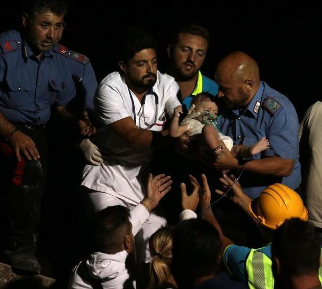 意大利度假地伊斯基亚岛地震致2死39伤