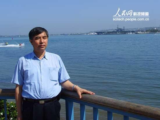"""山东青岛:相建海第四届曾呈奎海洋科技奖 """"突出成就奖"""""""