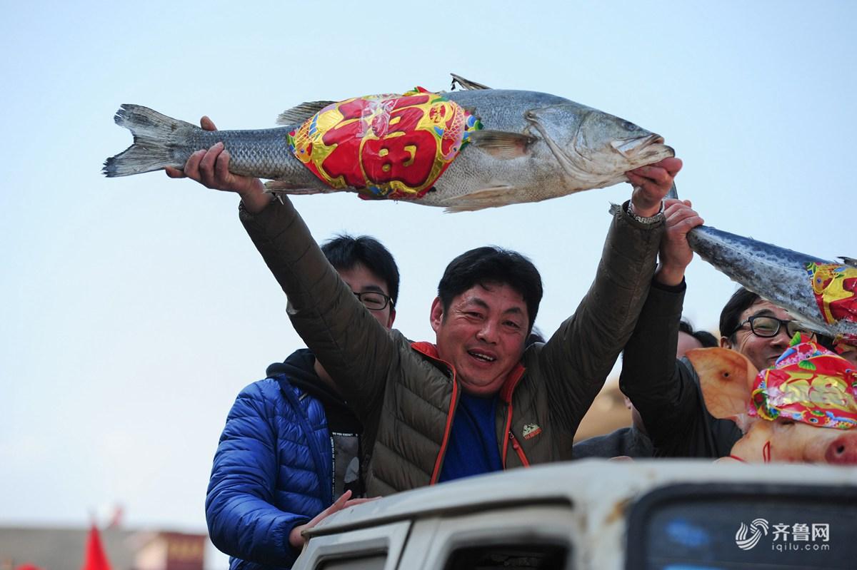 独一处的风景 烟台渔民民俗味道欢庆渔灯节