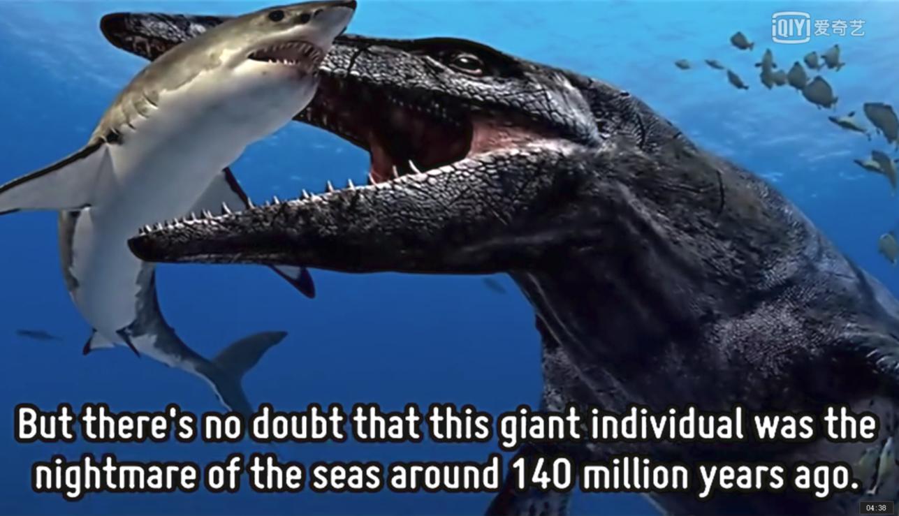 科学探索 :鲨鱼只够史前巨怪塞牙缝