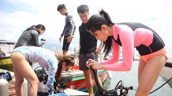 以美之名保护海洋 首届中国珊瑚礁普查拉开序幕