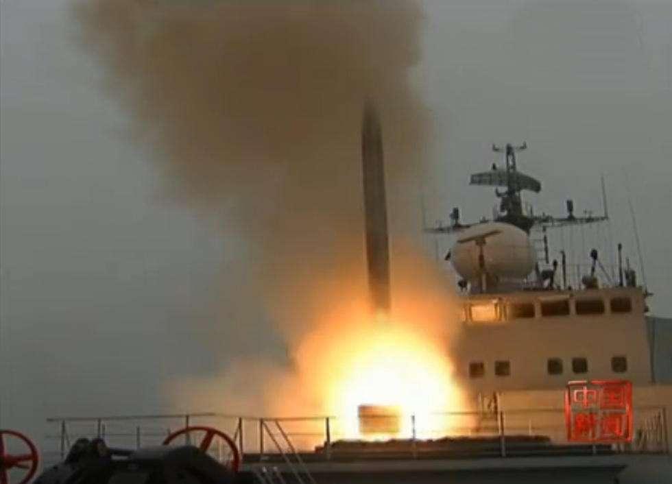 中國某新型潛艦導彈系統獲國家科技進步特等獎