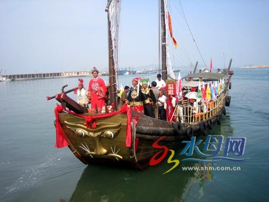 长岛举办了长岛风光摄影以及船模展览