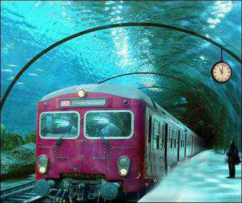 威尼斯水下地铁效果图
