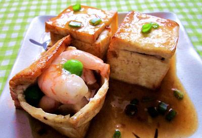 三鲜豆腐盒