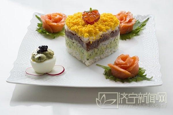 寿司简笔画柠檬