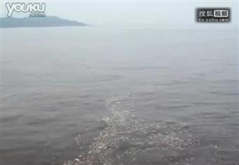 珠海漁女附近的赤潮
