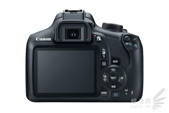 摄影入门首选 佳能EOS 1300D正式发布