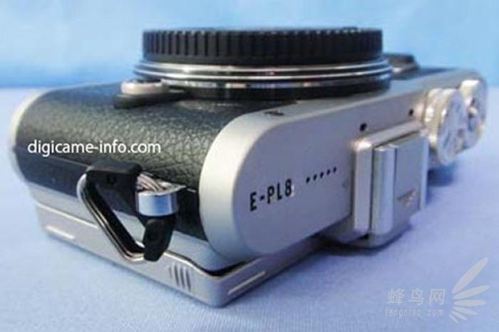 全新外观设计 奥林巴斯E-PL8谍照已曝光